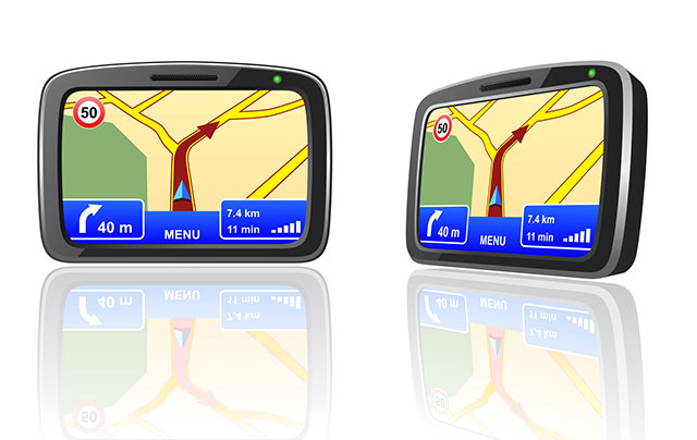 Image of two GPS units