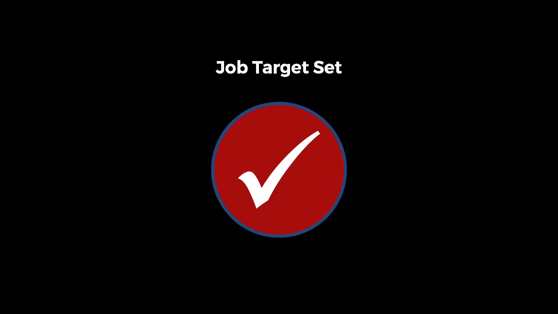 job target set